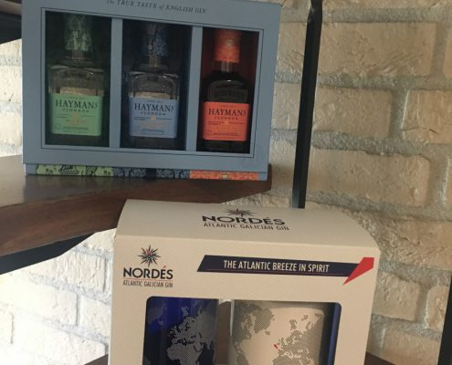 Hayman's Gin - Nordes Gin giftpack