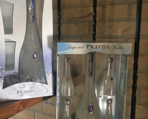 Pravda Vodka geschenkverpakking