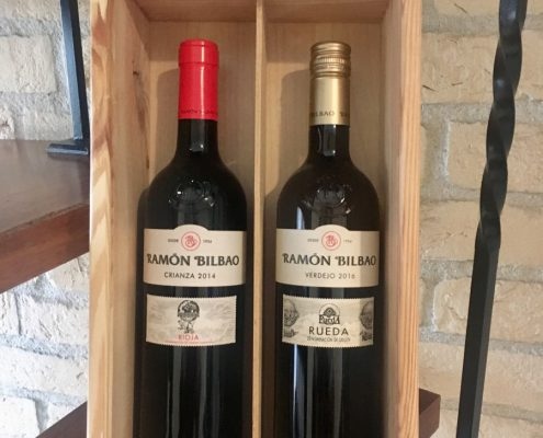 Ramon Bilbao rode wijn/witte wijn